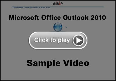 Microsoft Office Outlook 2010 Training Video
